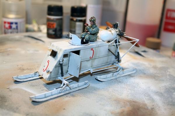 Soviet Armoured Aerosan NKL-26