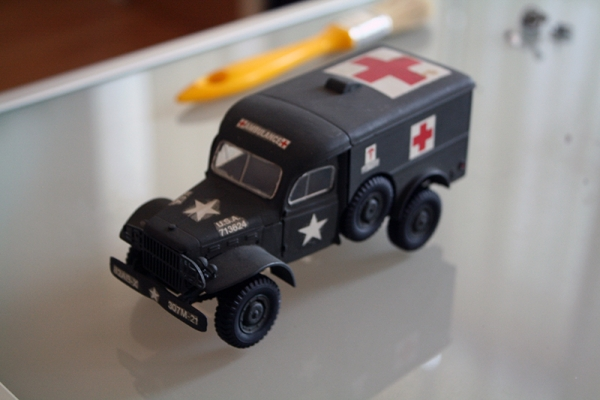 WC 54 Ambulance