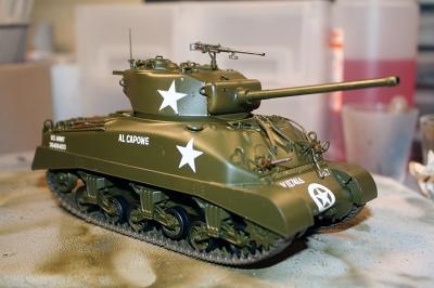 Sherman M4 A1