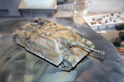 Sd.Kfz. 162 Jagdpanzer IV Ausf. F L/48 late