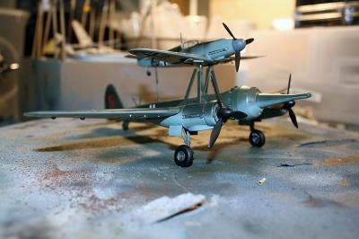 Mistel 1 JU88 with BF 109F