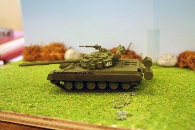 T-80BV Soviet Battle Tank