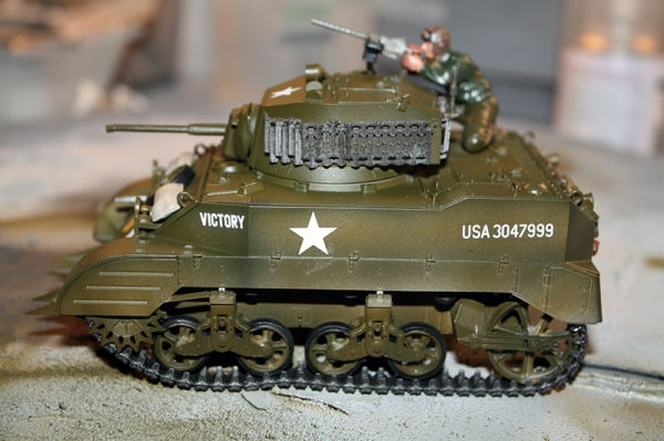 M5A1 U.S. Light Tank